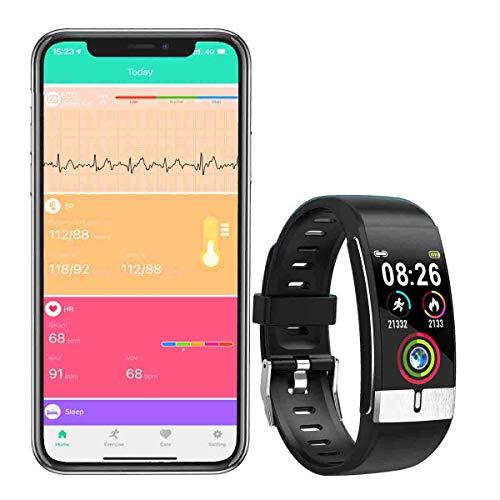 zeerkeer SmartWatch Pulsera Actividad, Fitness Tracker Reloj Deportivo Bluetooth Impermeable IP68...*