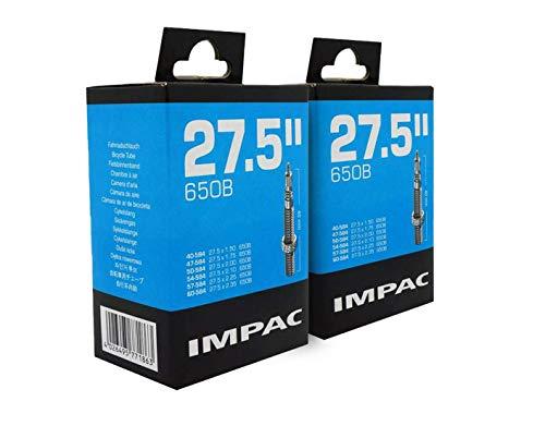 Impac 2pk Ciclo Tubos 27.5' (650b) Válvula Presta 27.5 X 1.50-2.35/40-584-60-584 para Montaña Bicicletas