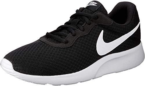 Nike Tanjun, Zapatillas de Running para Hombre, Negro (Black/White 011), 38.5 EU