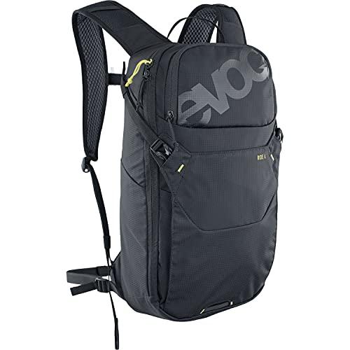 Evoc Ride 10 100324100 - Mochila para bicicleta de montaña sin protección para adulto, unisex, color negro