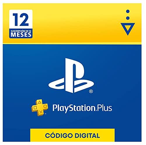Sony, PlayStation Plus - Suscripción 12 Meses | PS5/PS4/PS3 | Código de descarga PSN - Cuenta...*
