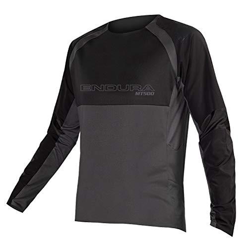 ENDURA MT500 Burner L/S Jersey II T-Shirt à Manga Larga Color Negro TG. M