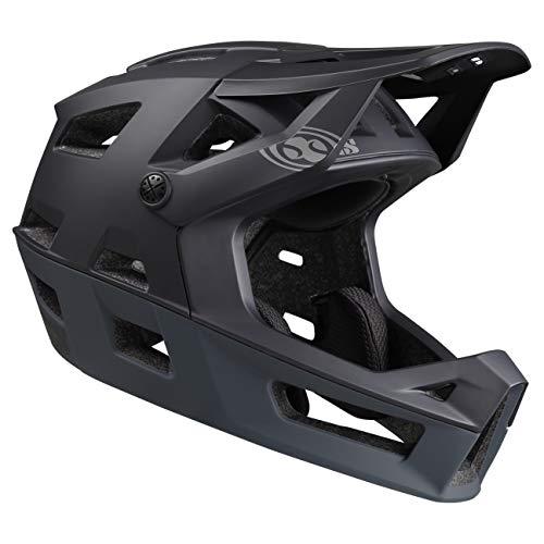 IXS Trigger FF Casco Integral para Bicicleta de montaña/E-Bike/BMX, Unisex Adulto, Negro, XS