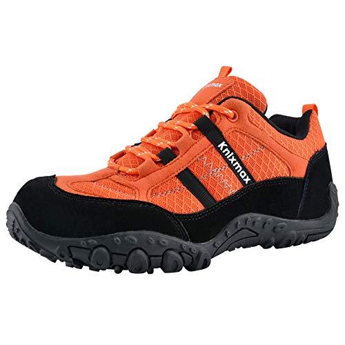 Knixmax - Zapatillas de Senderismo para Mujer, Zapatillas de Montaña Trekking Trail Ligeros...*
