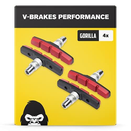 V-Brake Zapatas Freno 2 Par 70mm Symmetric I para Shimano, Tektro, Avid, Sram, XLC etc I Alto...*