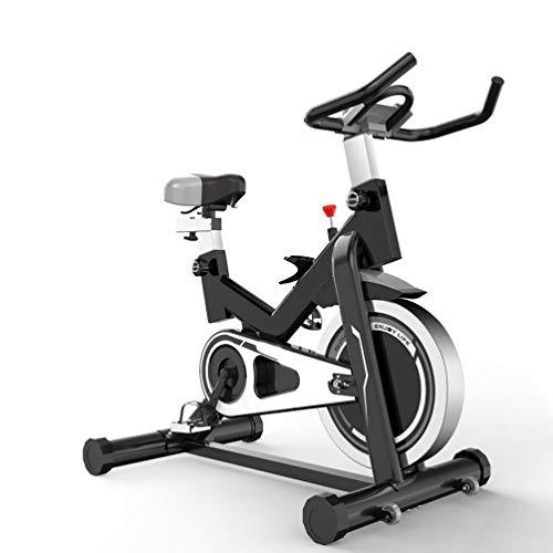 XMAGG® Bicicleta estática de Fitness,Bicicleta Spinning Profesional, Silenciosa, Ergonómica, Resistencia Variable, Sillín Confort, Freno Emergencia, Pantalla LCD Guia con App Deportes