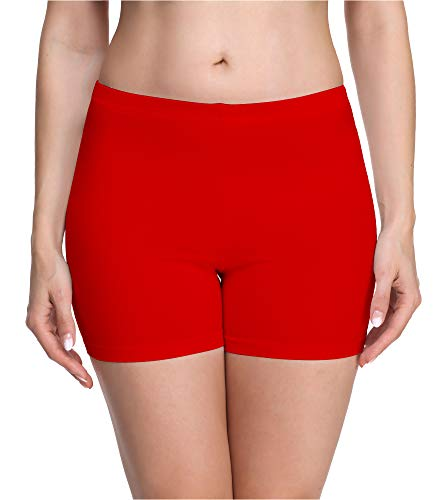 Merry Style Culote de Ciclismo Mallas Cortas Leggins Mujer MS10-283(Rojo,M)*