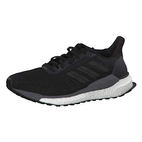 adidas Solarboost 19, Zapatillas de Carretera Mujer, Core Black Carbon Grey, 36 2/3 EU