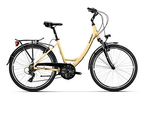 Conor MALIBÚ Mixta WL Bicicleta, Adultos Unisex, Crema (Beige), L*