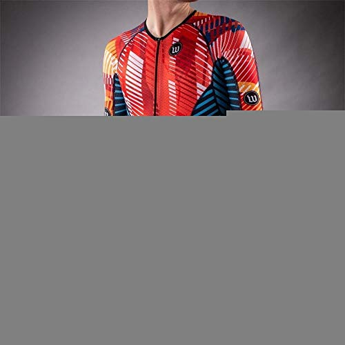 NHGFP QPM Jersey De Triatlón Skinsuit Vestimenta De Ciclismo Salpicaduras Hombre En Bicicleta...*