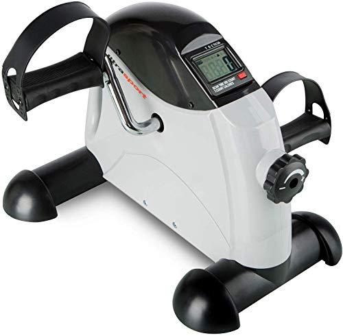 Ultrasport Mini Bike MB 100 Selection Series Trainer para Brazos y piernas con asa para Transporte, Unisex, Negro/Gris, 41 x 19 x 32 cm