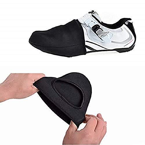 iPobie Cubierta para Zapatillas de Ciclismo, apatos Toe Cover Bicicleta Corta Zapato Protector...*