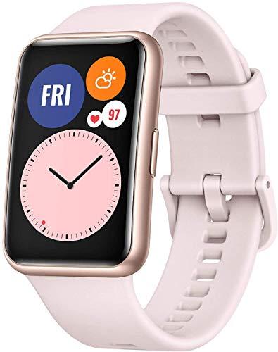 """HUAWEI Watch FIT - Smartwatch con Cuerpo de Metal, Pantalla AMOLED de 1,64"""", hasta 10 días de...*"""