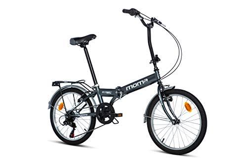 Moma Bikes Bicicleta Plegable Urbana STREET, SHIMANO 6V*
