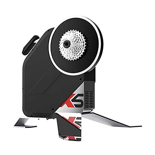 ThinkRider X5 Neo- Transmisión Directa Rodillo de Entrenamiento para Bicicleta Inteligente, Medidor...*