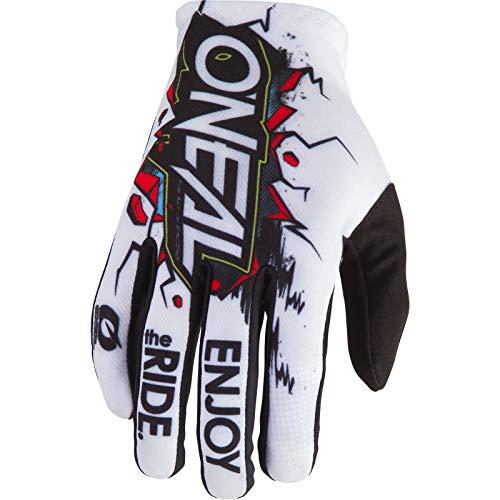 O'Neal 0388-V32 Guantes para Bicicleta, Mb, Descenso, Dh y Mx, XL, Blanco