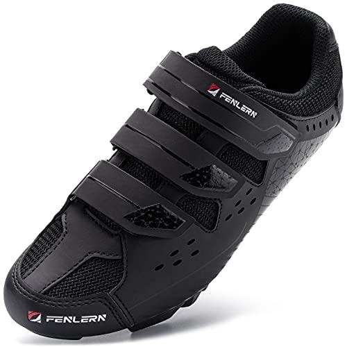 URDAR Zapatillas de Ciclismo Hombre Calzado Deportivo de MTB Montaña Antideslizante Transpirable...*