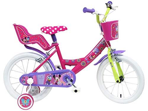 Denver Srl. Disney Minnie Mouse 16 Pulgadas 16 '' Kids para Bicicleta Niños 5 6 7 8 año