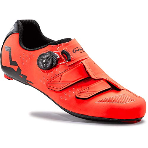 Zapatillas Northwave Phantom Carbon Naranja-Negro 2016*