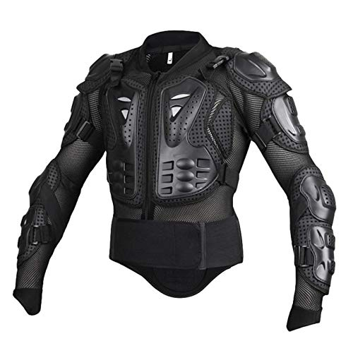 Yuanu Motos Coraza, Peto de Motocross con Protección de Pecho y Espalda, Montaña Ciclismo Patinaje...*