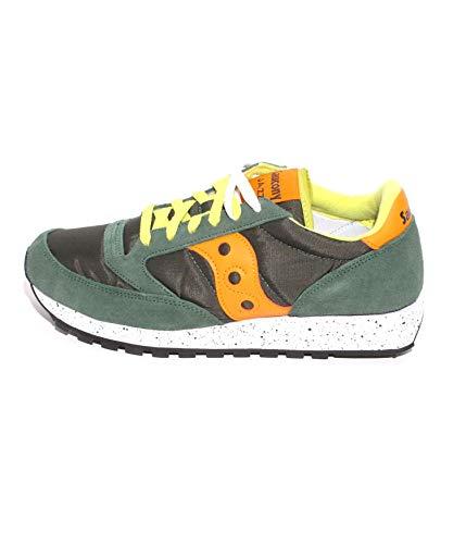 Saucony Jazz 414 Green/orange Scarpe Sneaker Uomo 2044-414*