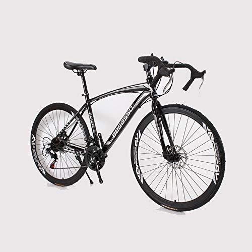 Freno de Disco Mango Curvo MTB de Carretera para Adultos Bicicleta de Velocidad 700C Offroad Racing...*