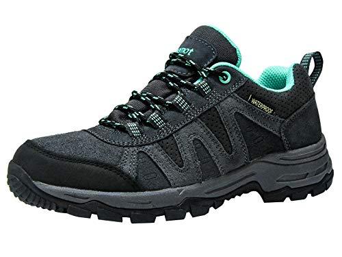 riemot Zapatillas Trekking para Mujer y Hombre, Zapatos de Senderismo Calzado de Montaña Escalada...*