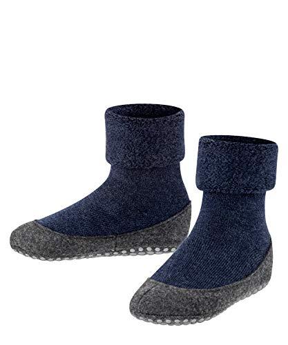 Falke Cosyshoe, Calcetines niños uni, Azul (Dark Blue), 33-34 (Talla fabricante: 33-34)