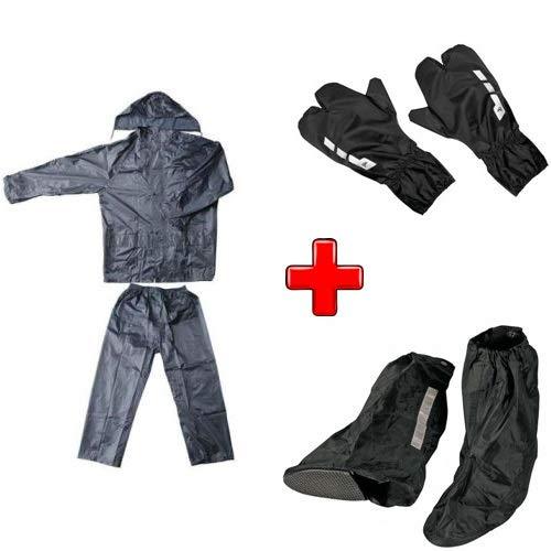 Compatible con Wilier Triestina Kit antilluvia para moto scooter y bicicleta chaqueta con pantalón...*