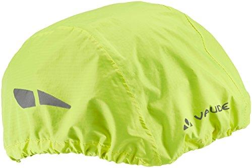 VAUDE Helmet Raincover - Funda Impermeable para Cascos de Ciclismo, Color Amarillo Neón, Talla Única
