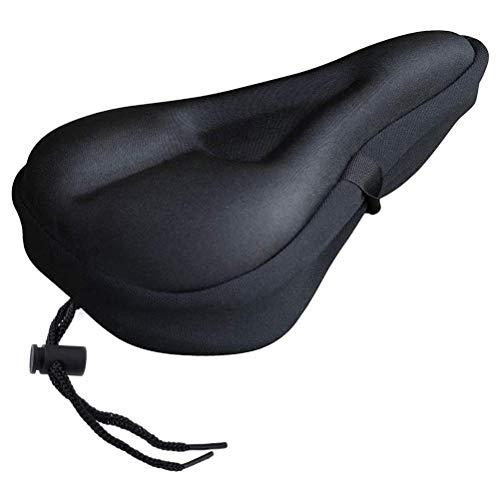 Mankoo Funda de sillín Gel, protección de sillín para Bicicletas de Hombres y Mujeres, cómodas Almohadillas de Asiento de Bicicleta Extra Suaves con impermeabilidad
