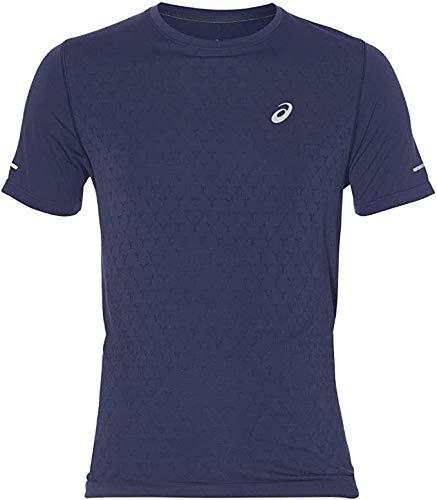ASICS Gel-Cool SS tee 2011a314-401 Camiseta, Azul (Navy 2011a314/401), Medium para Hombre