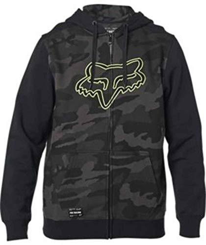 Fox Racing Sudadera de forro polar estándar Destrakt para hombre, XL, camuflaje negro*