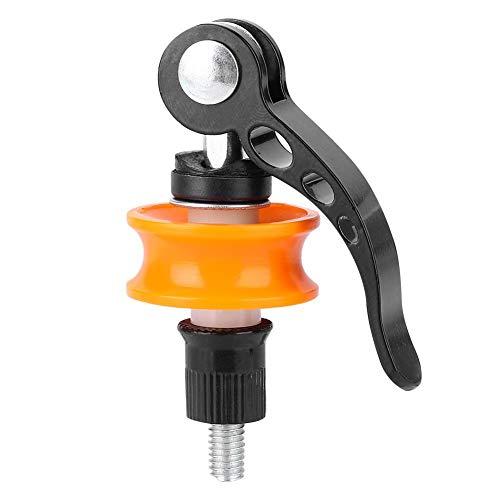 VGEBY1 Cadena de retención, Soporte de Rueda de Bicicleta Cadena de retención Protector de liberación rápida Fijar Herramienta de Limpieza para Limpiar Reparar Mantenimiento Accesorio de Ciclismo