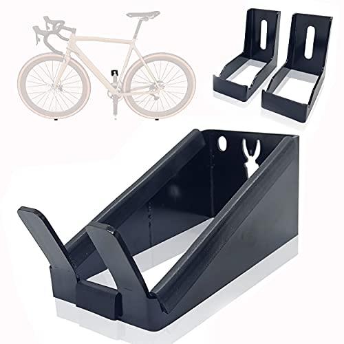 Soporte para colgar la bicicleta en la pared por el pedal. Soporte horizontal. Compatible con todo tipo de bicicletas.