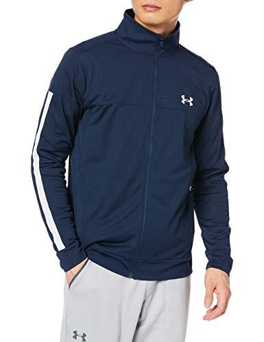 Under Armour Sportstyle Pique Track Jacket Chaqueta, Hombre, Azul (Academy/Academy/White), XL*