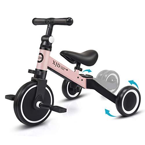 XJD 3 EN 1 Triciclo para Niños Bicicleta para bebé 1-3 años con Pedales Desmontables Asiento...*