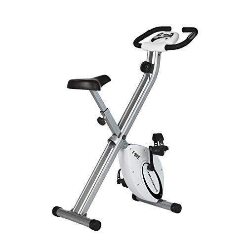 Ultrasport F-Bike estática, Aparato doméstico, Bicicleta Fitness Plegable con Consola y sensores...*