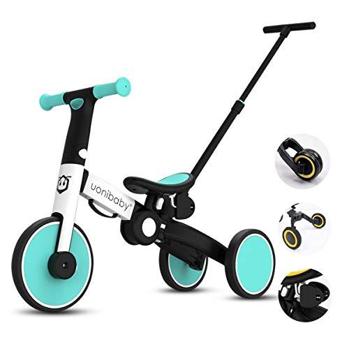OLYSPM 5 en 1 Bicicleta sin Pedales para Niños,Triciclos Bebes,Triciclos para Niños de 1.5 a 5...*
