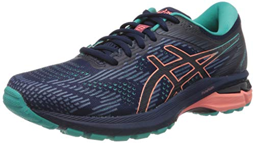Asics Gt-2000 8 Trail, Zapatillas para Carreras de montaña Mujer, Peacoat/Sea Glass, 43.5 EU*