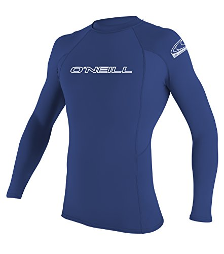 O'Neill UV sun Protection, Camiseta de Manga Larga para Hombre, Azul (Pacific), large