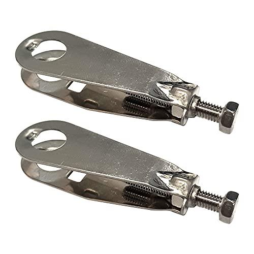 Tensor de Cadena de Bicicleta Holland Batavus, M5x55mm, Paquete de 2