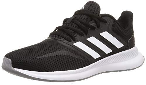 Adidas Runfalcon, Zapatillas de Trail Running Mujer, Negro (Negbás/Ftwbla/Gritre 000), 38 2/3 EU