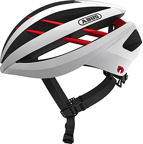 ABUS Aventor Quin Casco de carreras - Casco de bicicleta inteligente con detección de colisión y...*
