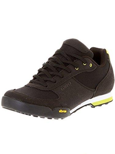 Giro Petra VR MTB, Zapatos de Bicicleta de montaña Mujer, Multicolor (Black/Wild Lime 000), 36 EU*