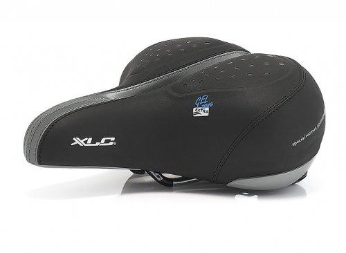 Xlc Globetrotter SA-G02 Fahrrad-Sattel (City)//Women's, Ausführung:Schwarz, Dimension:245x225 mm