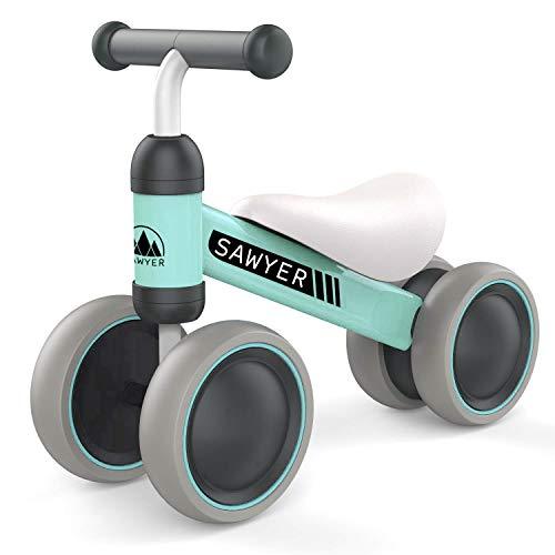 Sawyer - Correpasillos/Bicicleta Sin Pedales - Niños 10 a 24 Meses - Bebes 1 año (Mint)*