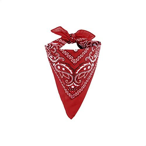 EUROXANTY Bandana 100% Algodón | Pañuelo para el Cuello, Cabeza, Muñeca | Diseño Único |...*
