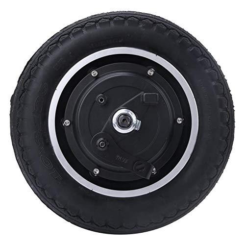 FOLOSAFENAR Motor del neumático de la Vespa 350W Motor del Eje de Rueda del Motor del Eje de 10 Pulgadas Sin Engranaje, para la E-Bike