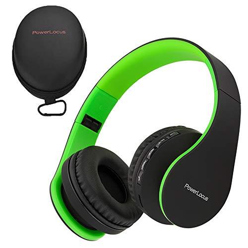PowerLocus P1 – Auriculares Bluetooth inalambricos de Diadema Cascos Plegables, Casco Bluetooth...*